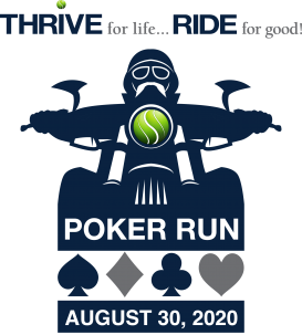 THRIVE for Life Poker RunFlier Art 2020